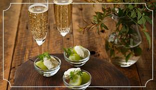 スパークリングワインと楽しむ チーズアレンジ