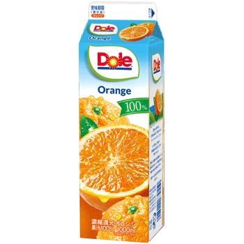 Dole® オレンジ 100%