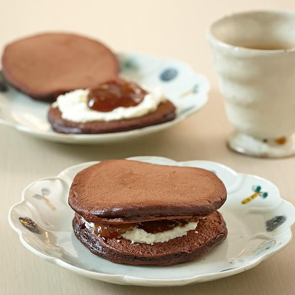 チョコレートパンケーキ:栗原は...
